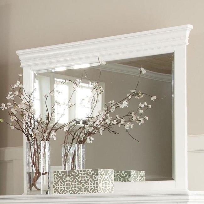 Essex Mirror (White)