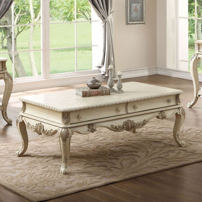Ragenardus Coffee Table (Antique White)
