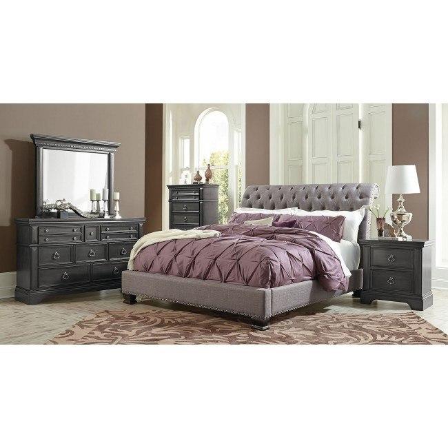 Garrison Upholstered Bedroom Set