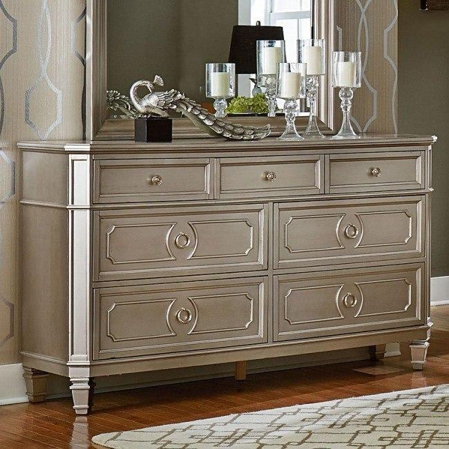 Windsor Dresser (Silver)