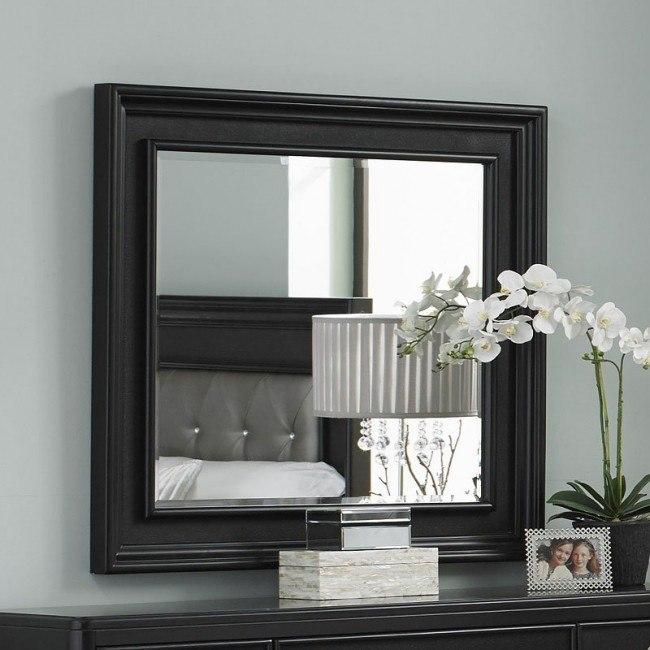 Diva Midnight Landscape Mirror