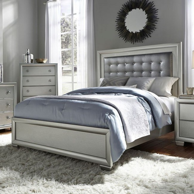 Celestial Panel Bed