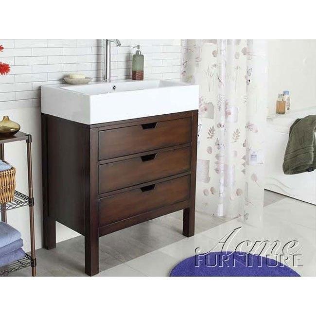 Modern Cherry Sink