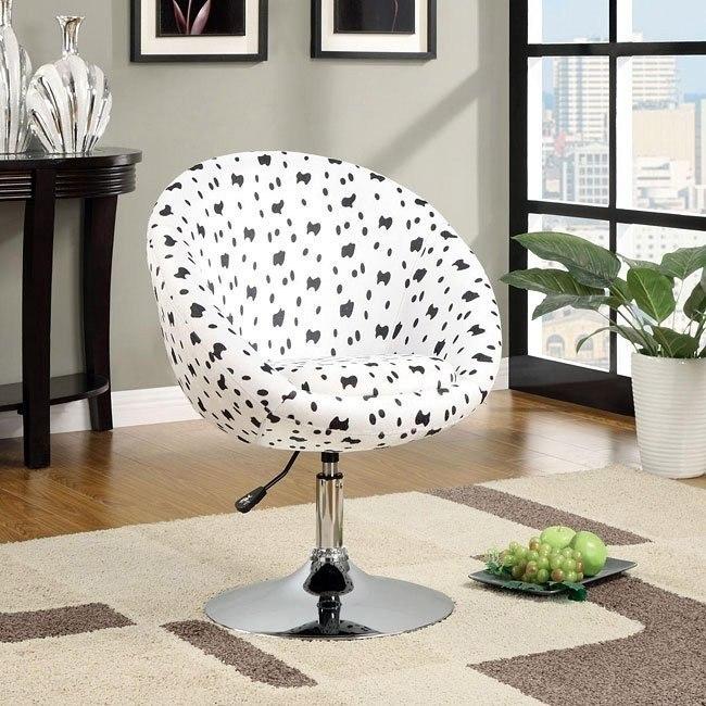 Pleasing Dalmatian Adjustable Accent Chair Cjindustries Chair Design For Home Cjindustriesco