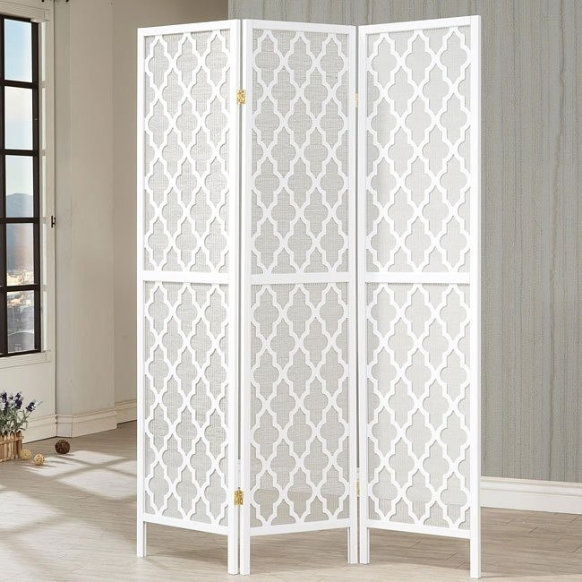 Honeycomb Patterned Folding Screen
