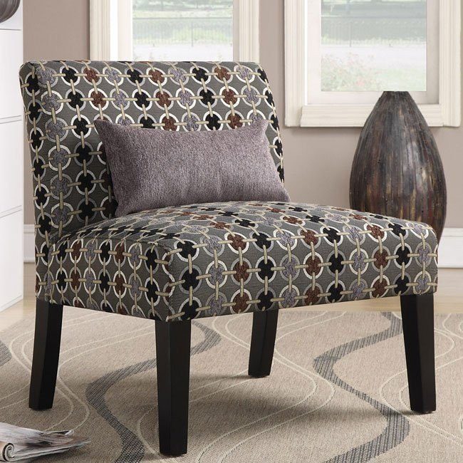 Contrasting Accent Chair