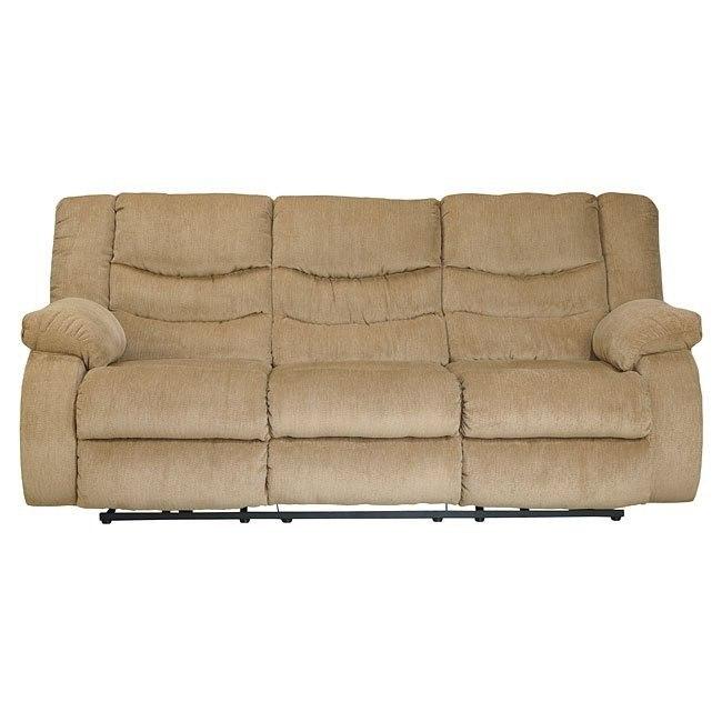 Garek Sand Reclining Sofa By Signature Design By Ashley