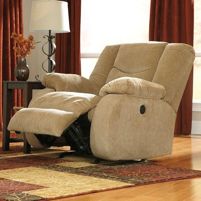Garek Sand Rocker Recliner w/ Power