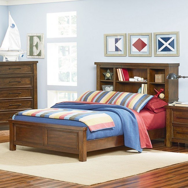 Cameron Youth Bookcase Bed