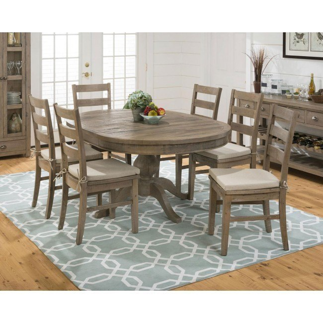Slater Mill Round to Oval Dining Set w/ Chair Options