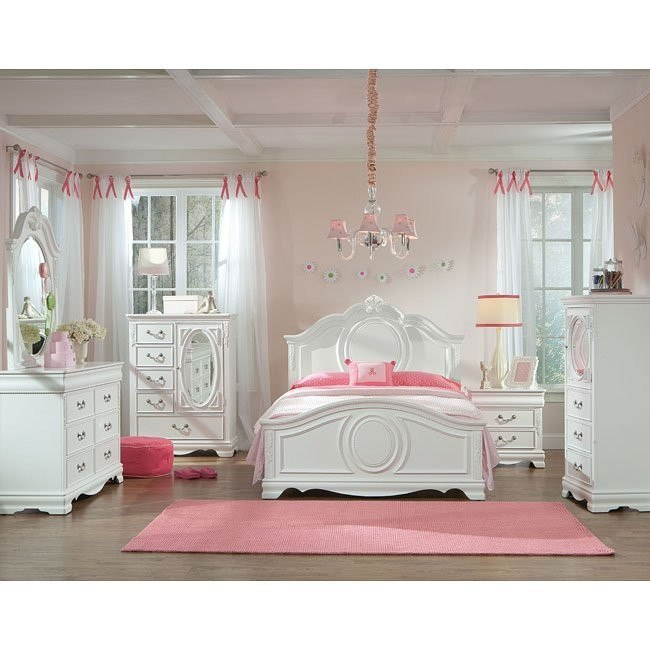 Jessica Youth Panel Bedroom Set