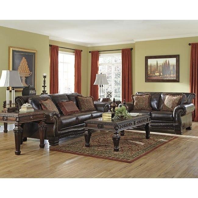 Ledelle DuraBlend Antique Living Room Set