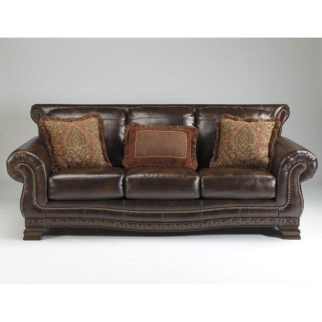Ledelle Durablend Antique Sofa Signature Design By Ashley