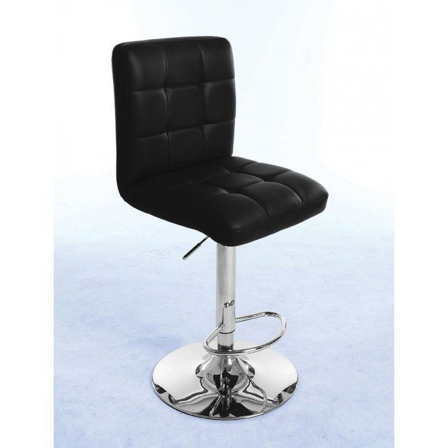 Gaylord Adjustable Swivel Stool (Black) (Set of 2)
