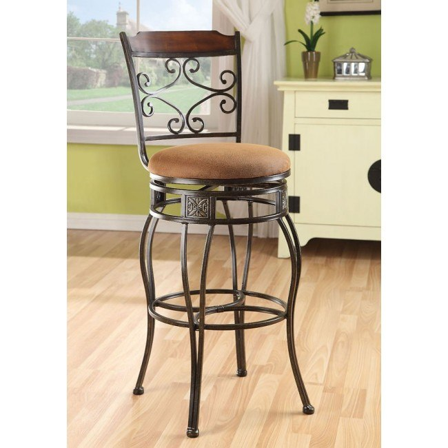 Tavio 96045 Swivel Barstool (Set of 2)