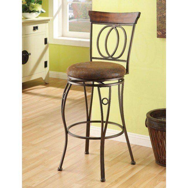 Tavio 96046 Swivel Barstool (Set of 2)