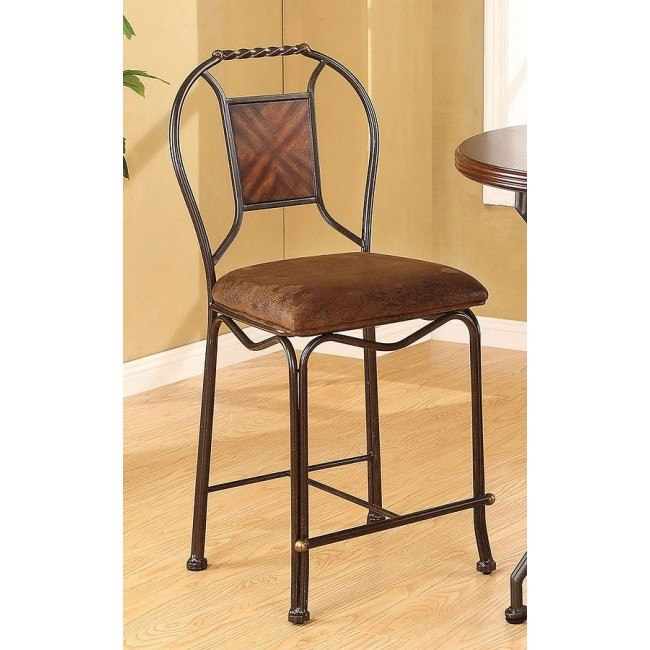Tavio 96063 Counter Chair (Set of 2)