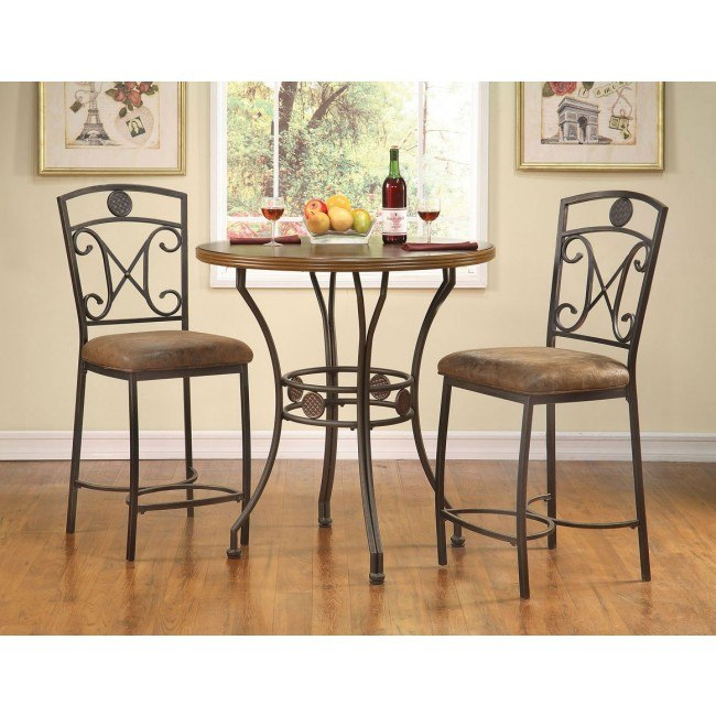 Tavio 96068 Counter Height Dining Set w/ 96061 Chairs