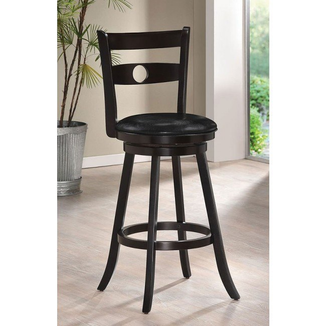 Tabib Swivel Bar Chair (Cappuccino)