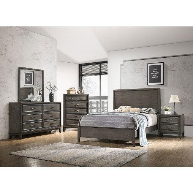 promo code f8871 45d82 Winchester Grey Panel Bedroom Set