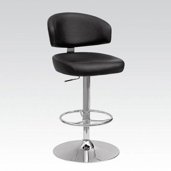 Deka Adjustable Swivel Stool (Black)