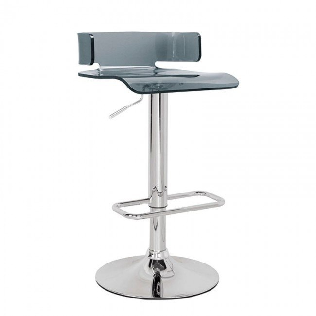Rania Adjustable Swivel Stool (Gray)