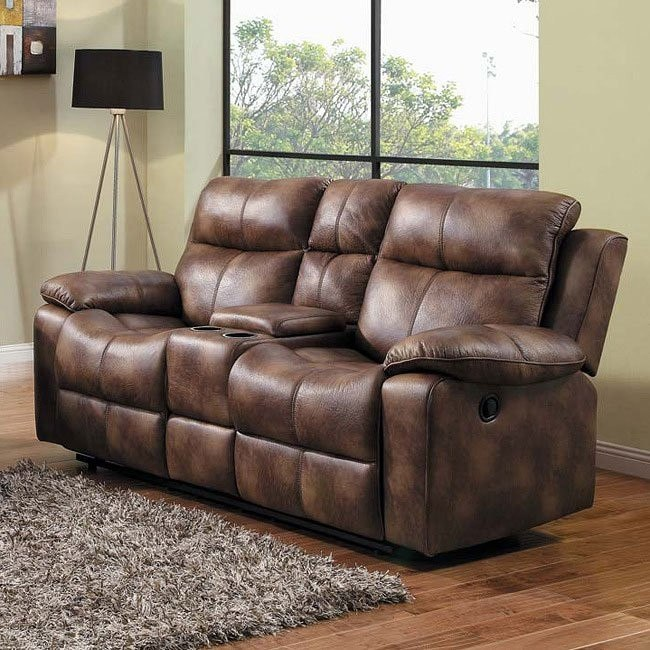 Brooklyn Heights Double Glider Reclining Loveseat