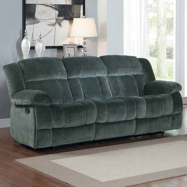 Laurelton Double Reclining Sofa (Charcoal)