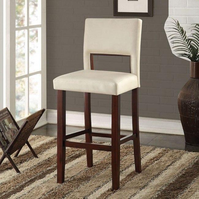 Reiko Bar Chair (White)