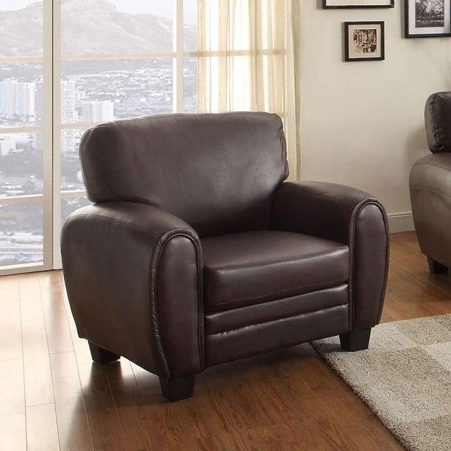Rubin Chair (Dark Brown)