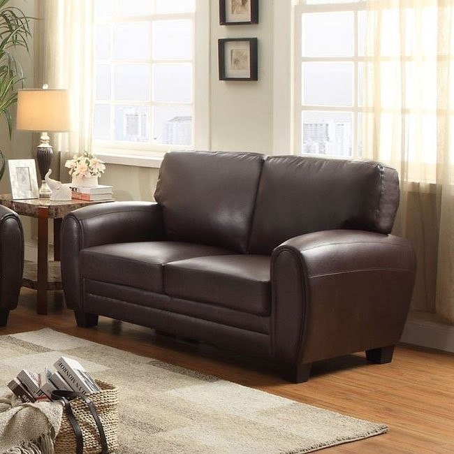 Rubin Loveseat (Dark Brown)