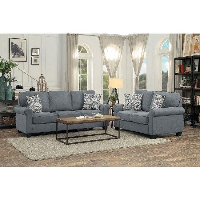 Selkirk Living Room Set (Gray)