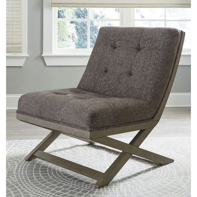 Sidewinder Accent Chair Taupe By Signature Design By