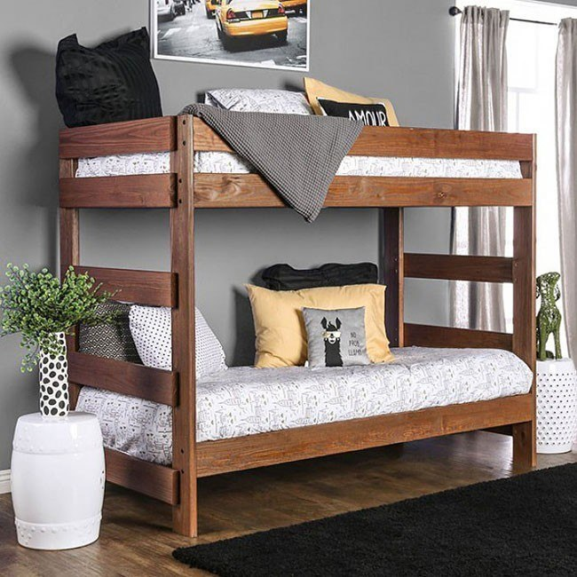 Arlette Twin over Twin Bunk Bed