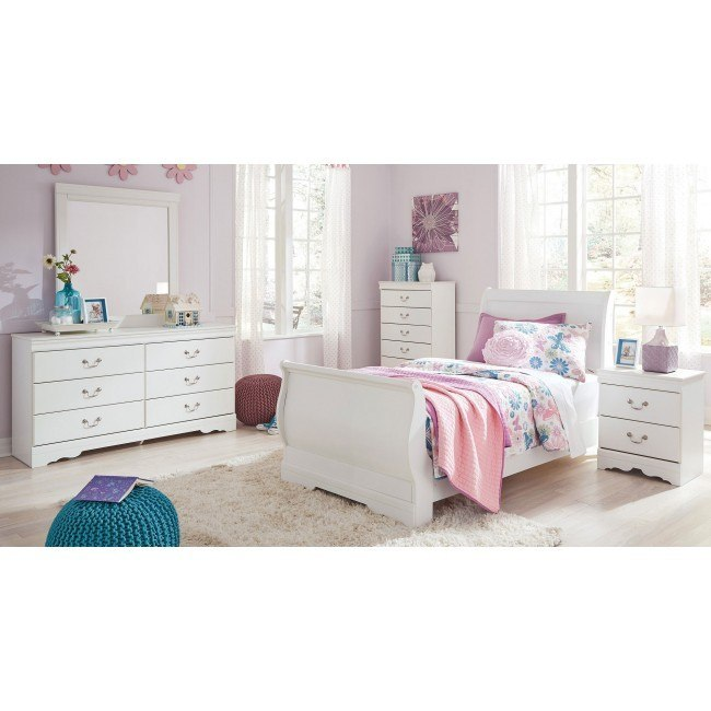 Anarasia Youth Sleigh Bedroom Set