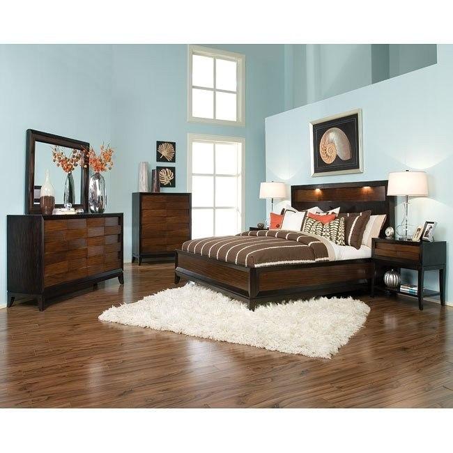 Urban Safari Island Bedroom Set By Magnussen Furniturepick