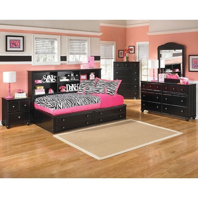 Jaidyn Youth Bookcase Bedroom Set