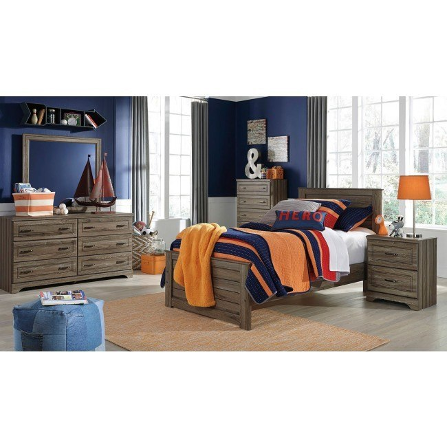 Javarin Youth Panel Bedroom Set