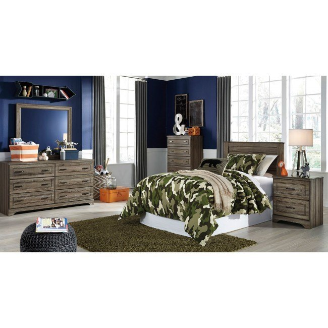 Javarin Youth Headboard Bedroom Set