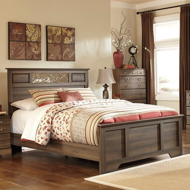 Allymore Panel Bed (Queen)