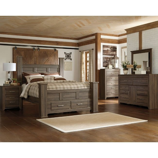 Juararo poster storage bedroom set by signature design by - Ashley furniture pheasant run bedroom set ...