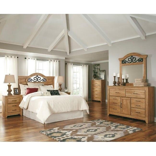 Drogan Headboard Bedroom Set