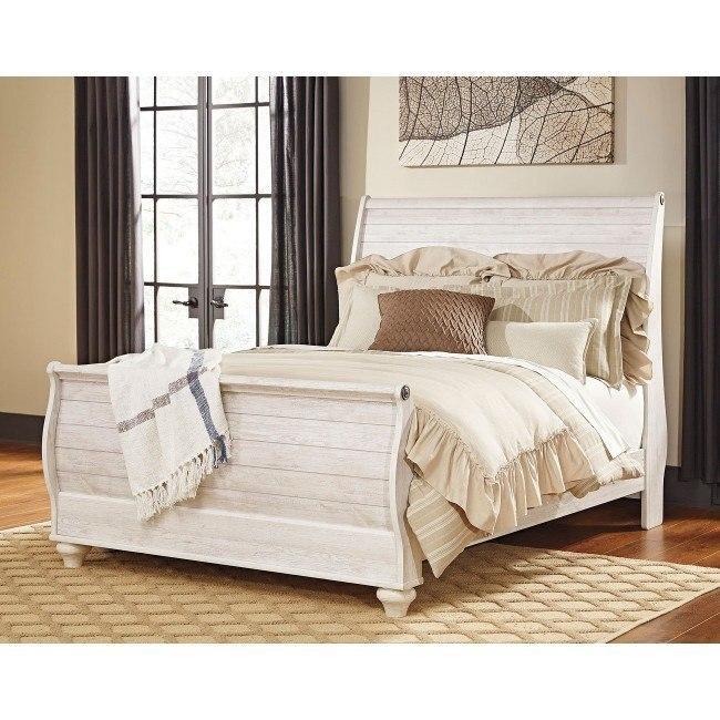 Willowton Sleigh Bed