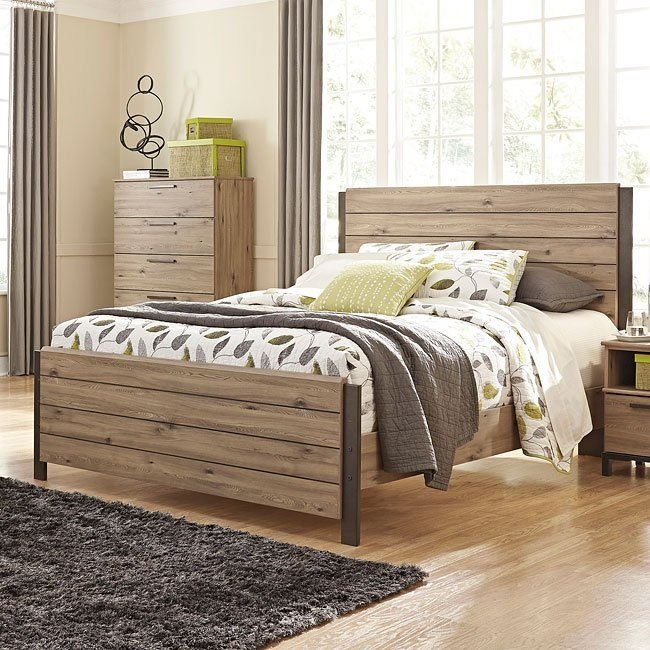Dexifield Panel Bed (Queen)