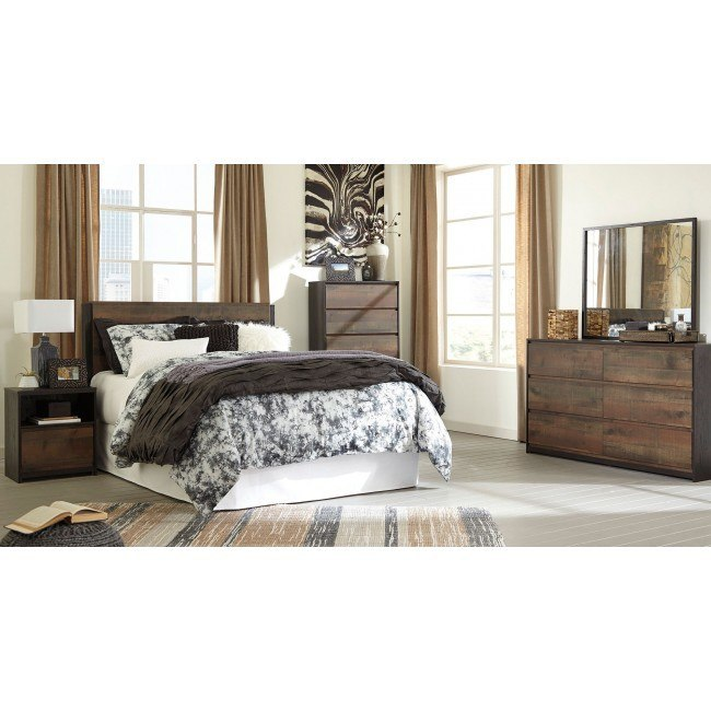 Windlore Headboard Bedroom Set