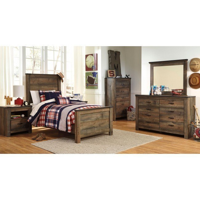 Trinell Youth Panel Bedroom Set