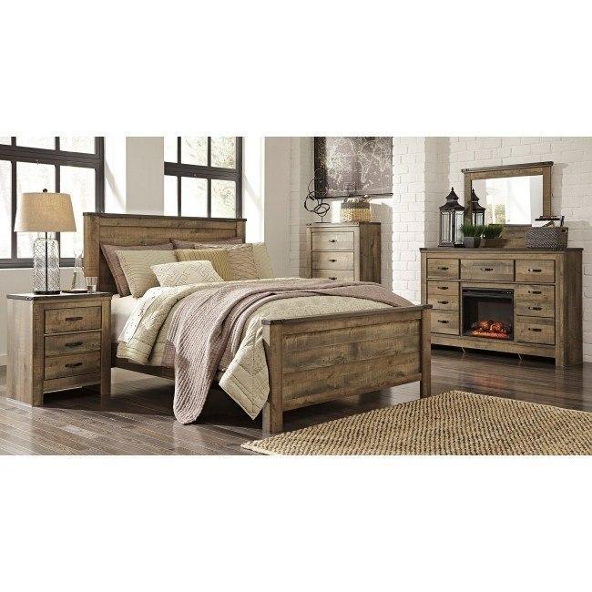 Trinell Panel Bedroom Set