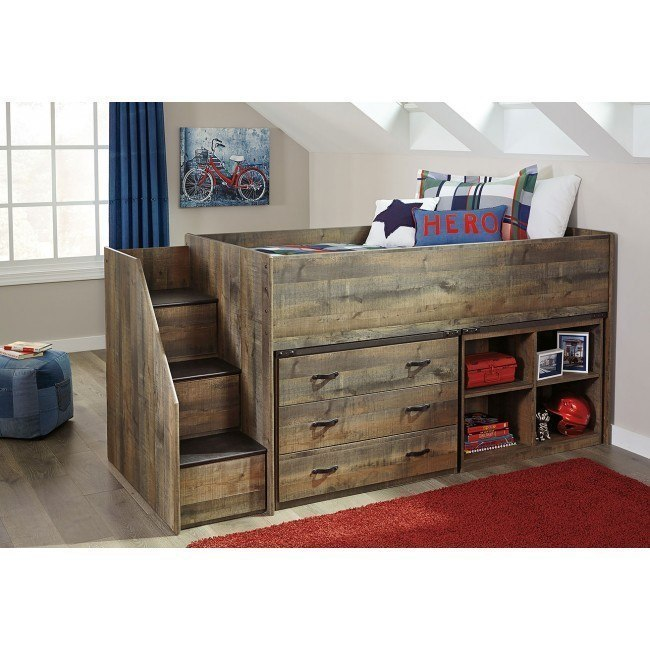 Trinell Twin Loft Bedroom Set