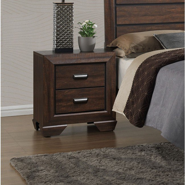 Farrow Night Stand (Chocolate)