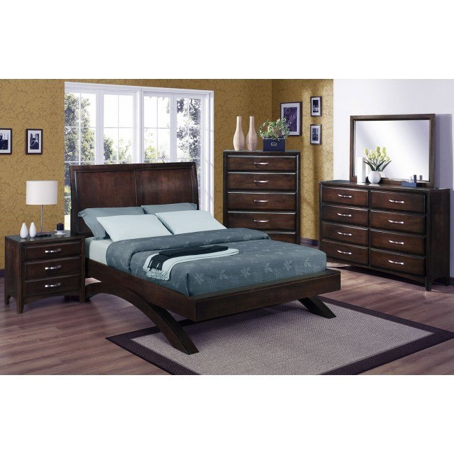 Vera Platform Bedroom Set